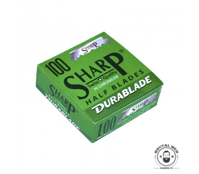 ЛЕЗВИЯ SHARP HI CHROMIUM HALF BLADES 100 CT