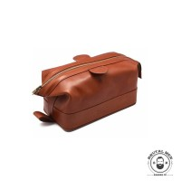 КОСМЕТИЧКА МУЖСКАЯ TRUEFITT & HILL GENTLMAN'S WASH BAG TAN