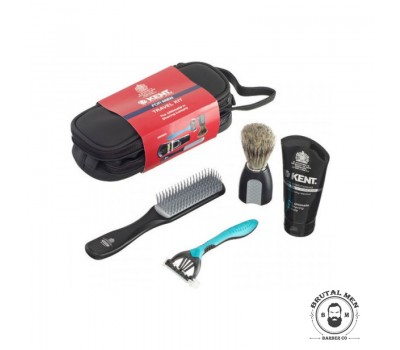 НАБОР ДЛЯ БРИТЬЯ KENT BIG WET SET SHAVING TRAVEL KIT